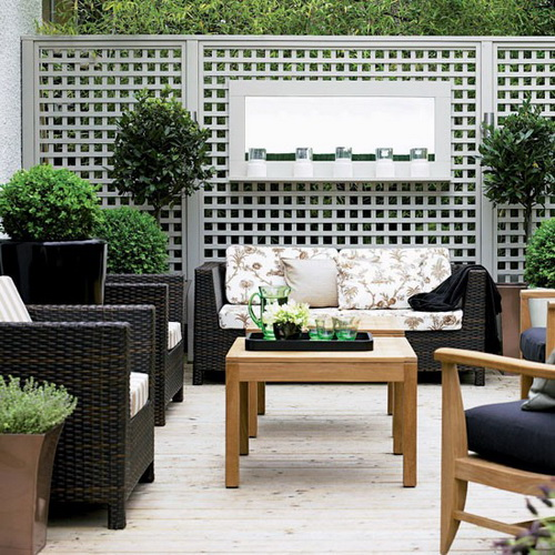 Exterior Wall Decor Ideas : Outdoor d?cor ideas guide part living direct