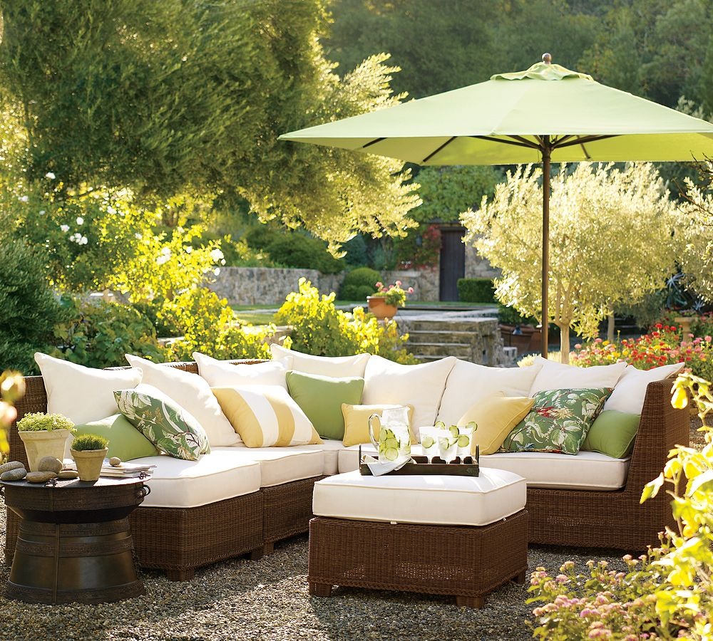 Maintaining your outdoor furniture outdoor living direct for Garden sit out designs