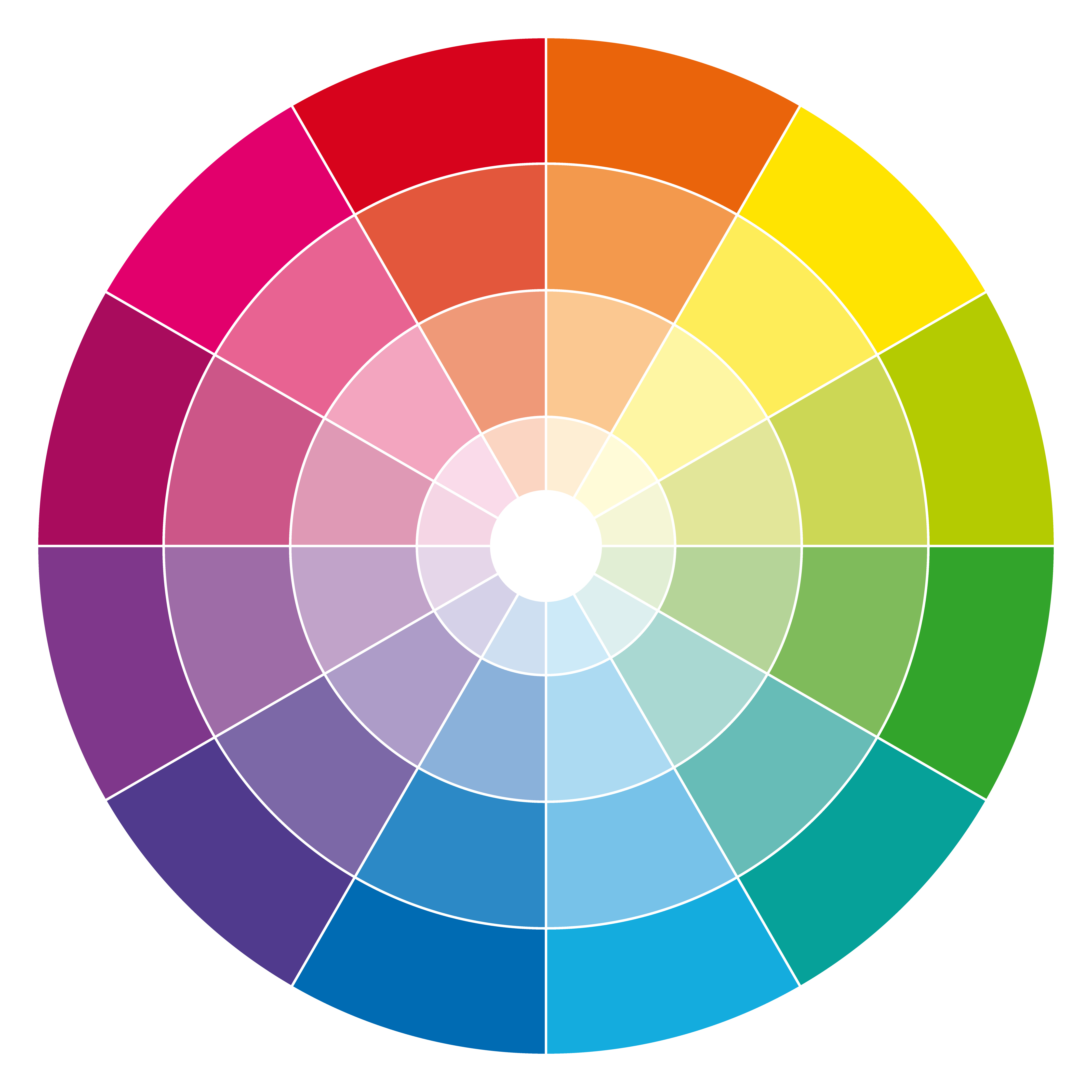 Using The Colour Wheel As A Guide To Styling Your Outdoor Space on Mixing Colours