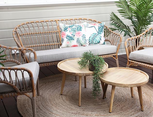 Wicker lounge sets