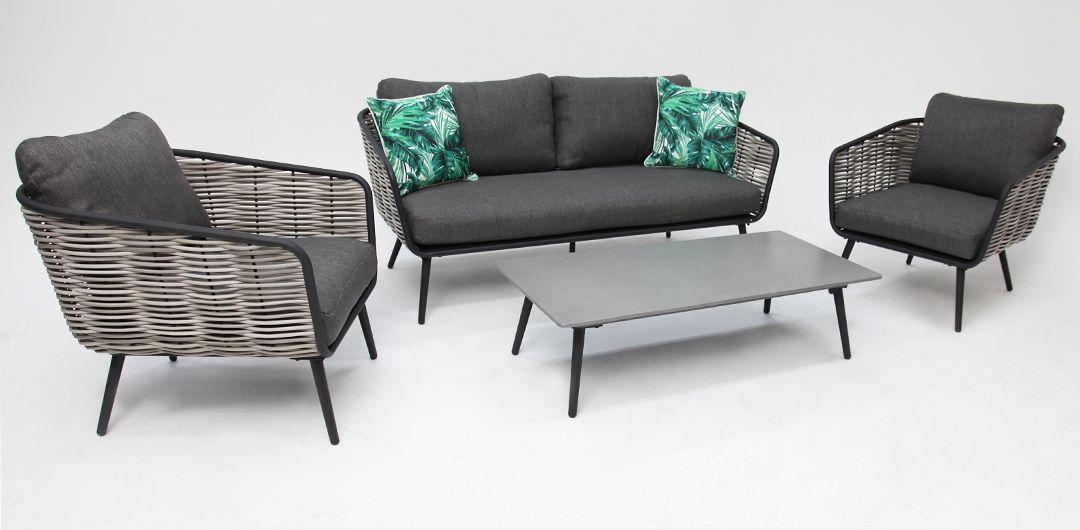 Alyssa 4 piece lounge setting