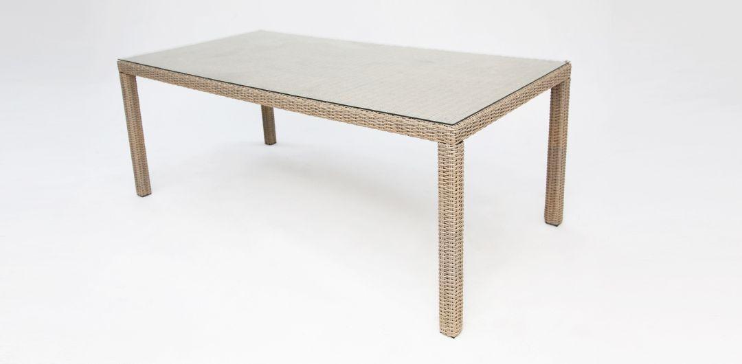 Amani 160cm dining table driftwood