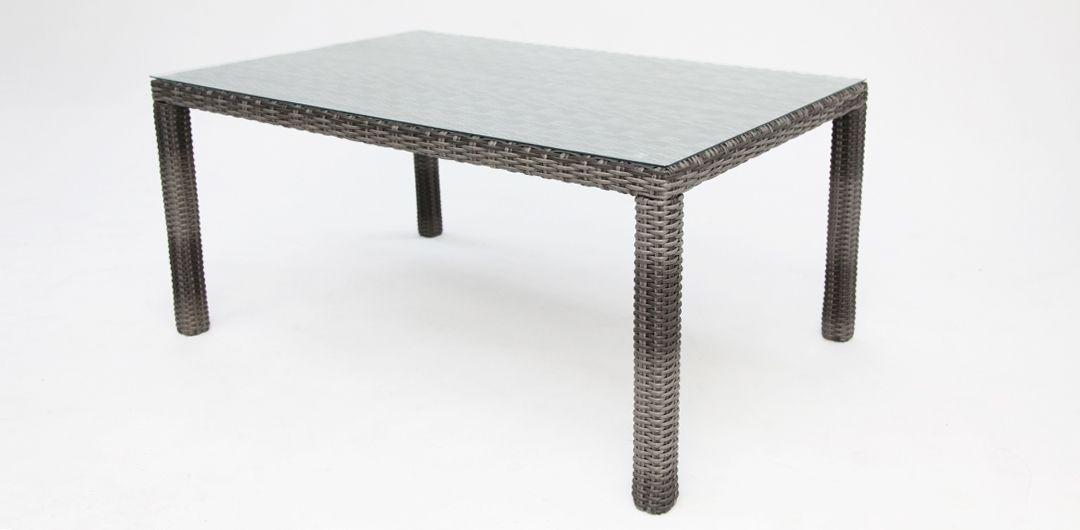 Amani 160cm dining table grey