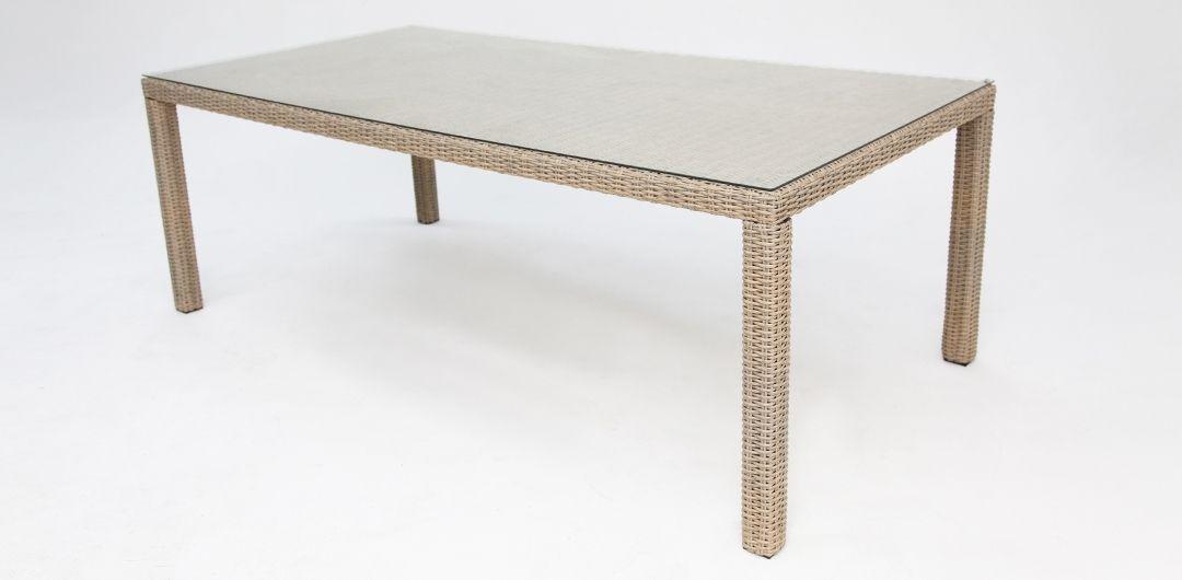 Amani 210cm dining table driftwood