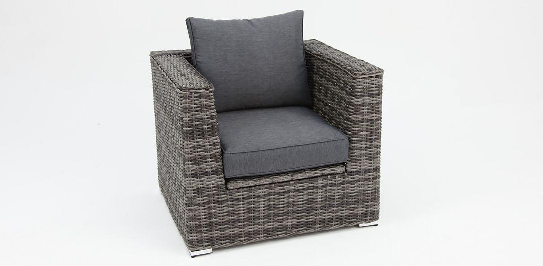 Amani storage armchair grey/storm