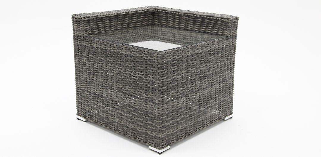 Amani corner table grey