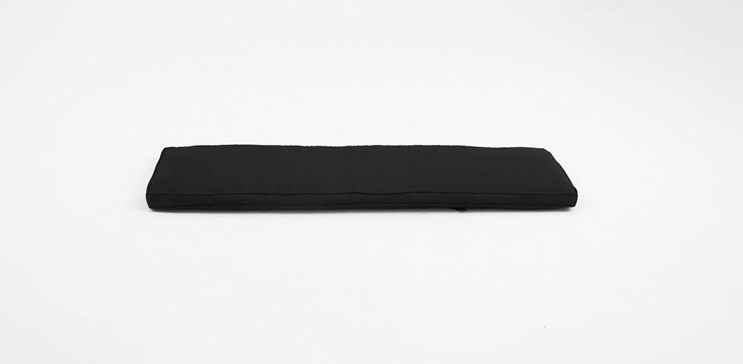 Bench cushion 155cm charcoal