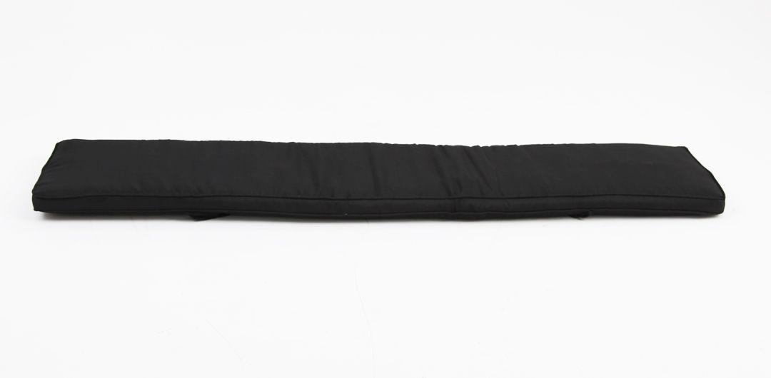 Bench cushion 235cm charcoal