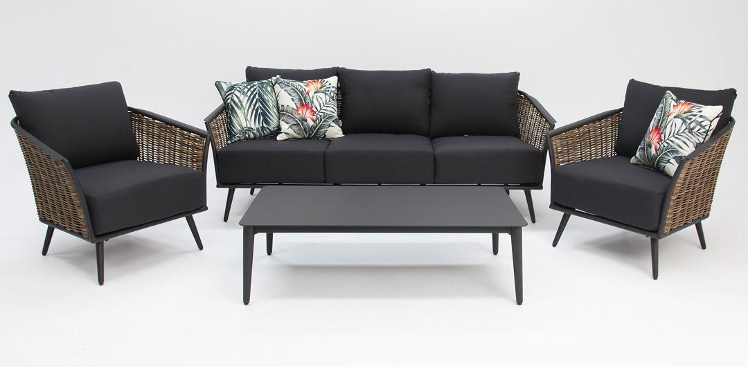 Casablanca 4 piece lounge setting