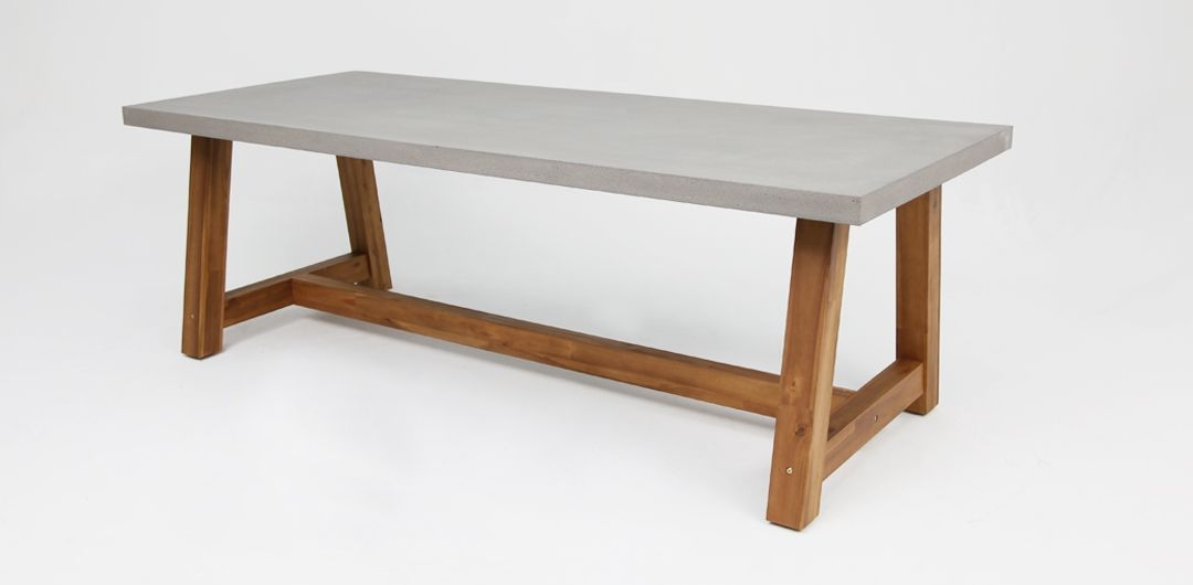 Charlotte 180cm concrete dining table