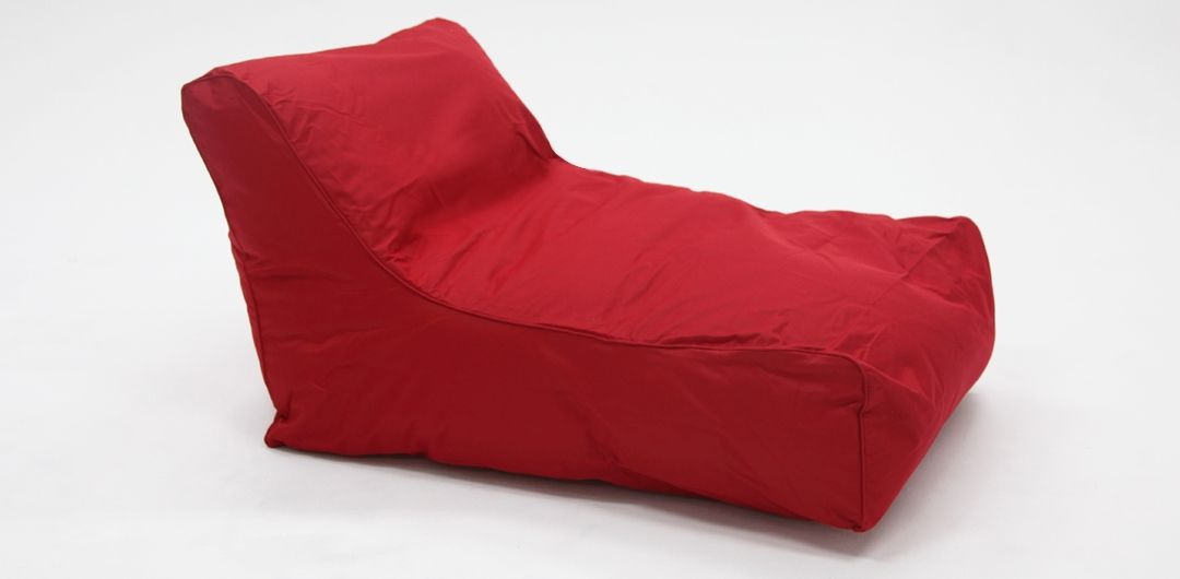 Chill Out outdoor beanbag red
