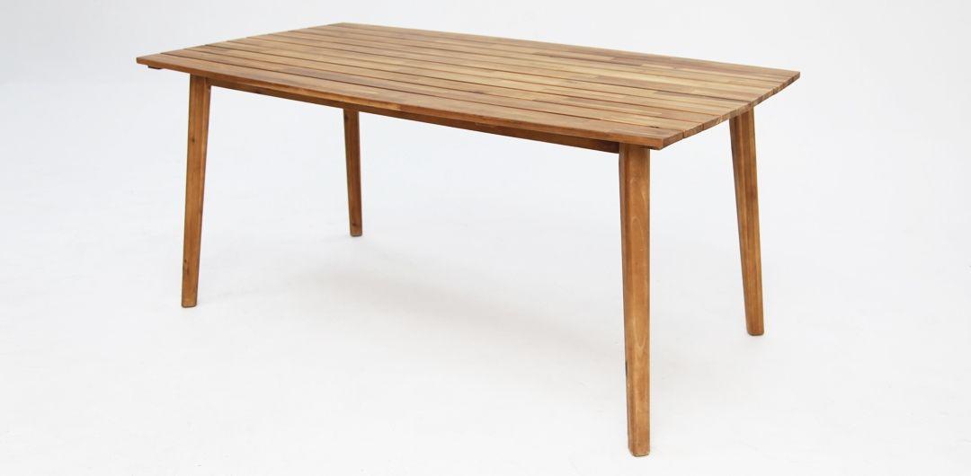 Copenhagen 165cm timber dining table