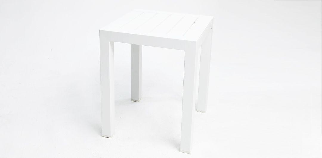 Dallas White side table