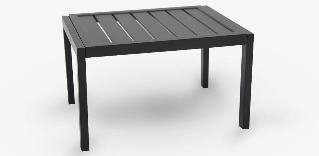 Eaglemont side table gunmetal