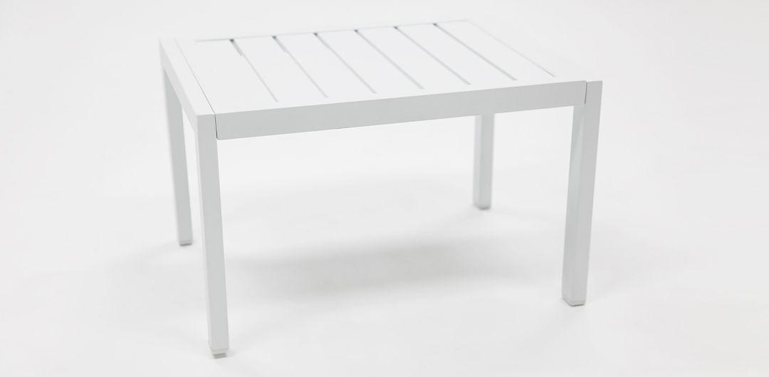 Eaglemont side table white