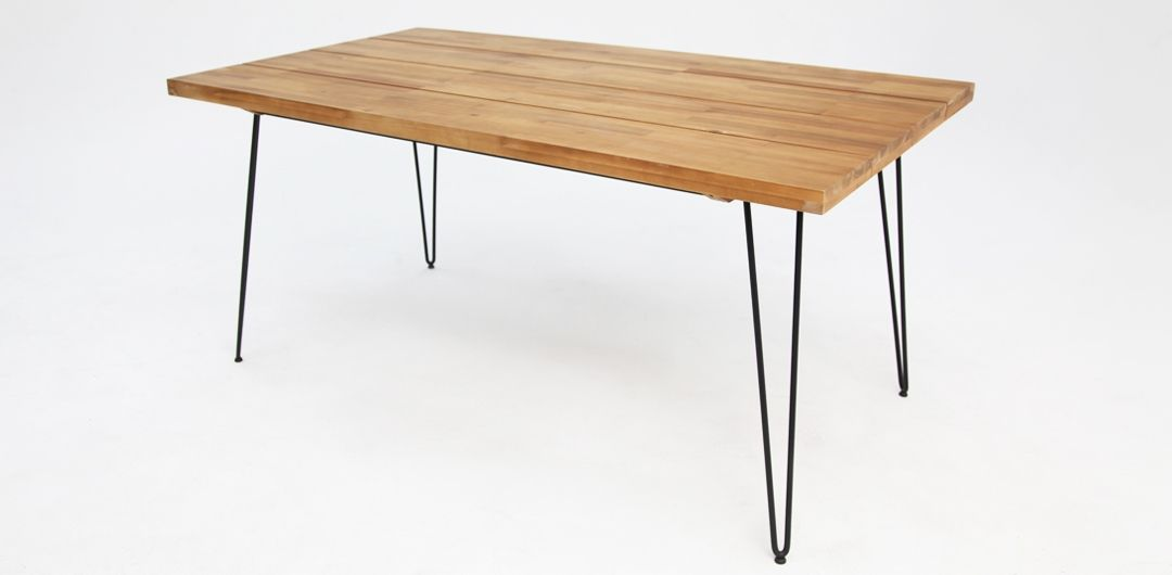 Everglade 165cm timber dining table