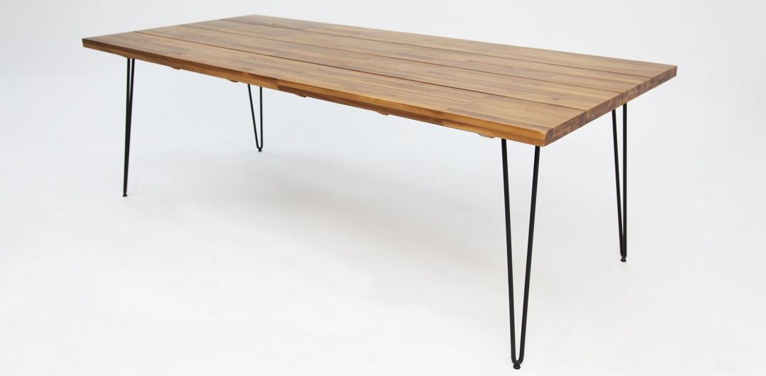 Everglade 230cm timber dining table