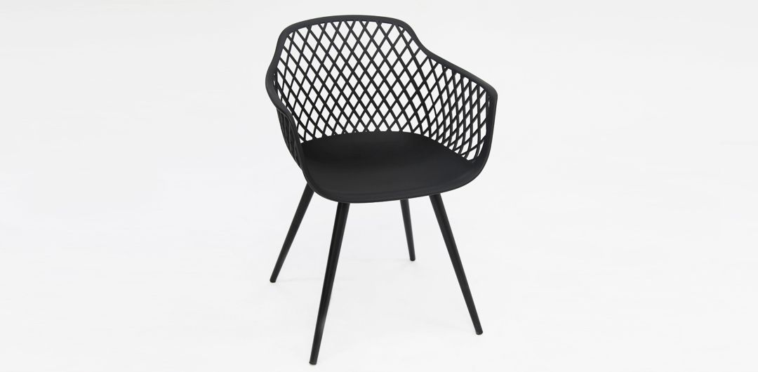 Java dining chair black