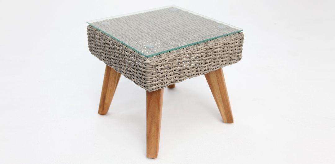 Jetson Kobo Grey Square Side Table