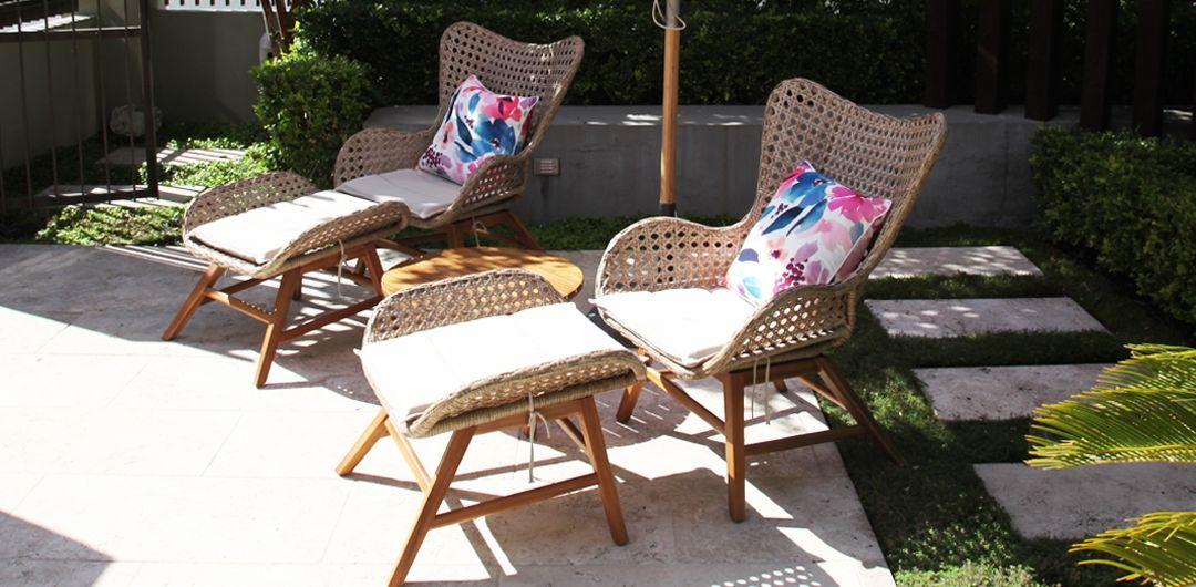 Luna 5 piece lounge set