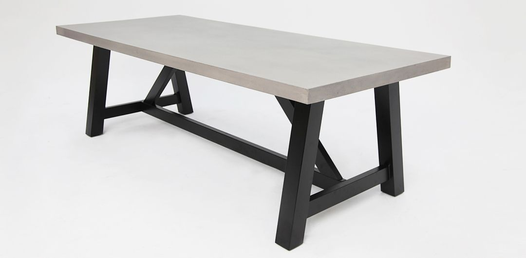 Milano 180cm concrete dining table
