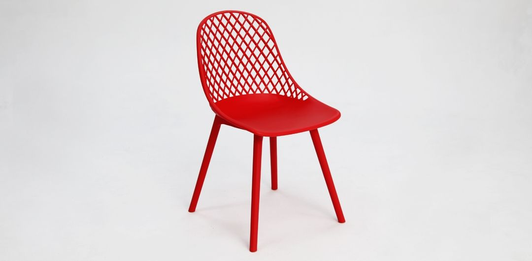 Persia dining chair red