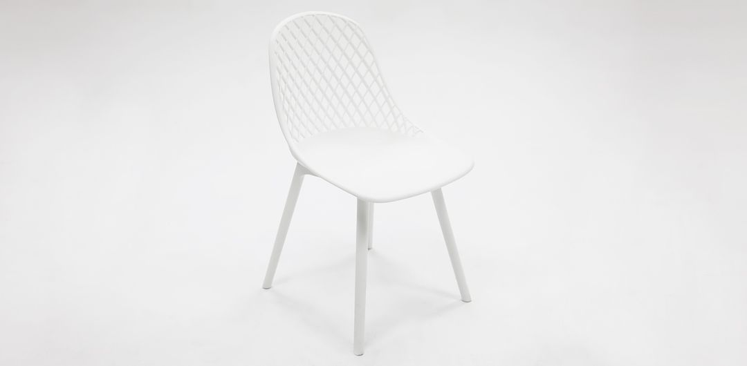 Persia dining chair white