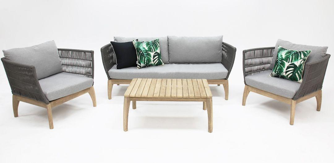 River 4 piece lounge setting