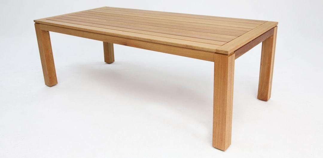 Selina Karri Gum 260cm natural timber table