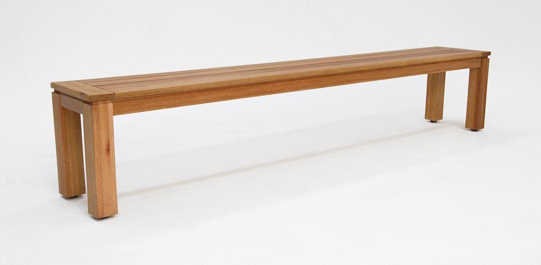Selina Karri Gum 195cm natural timber bench