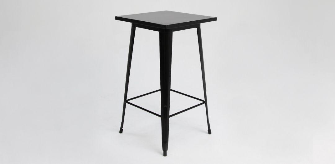 Tolix bar table black
