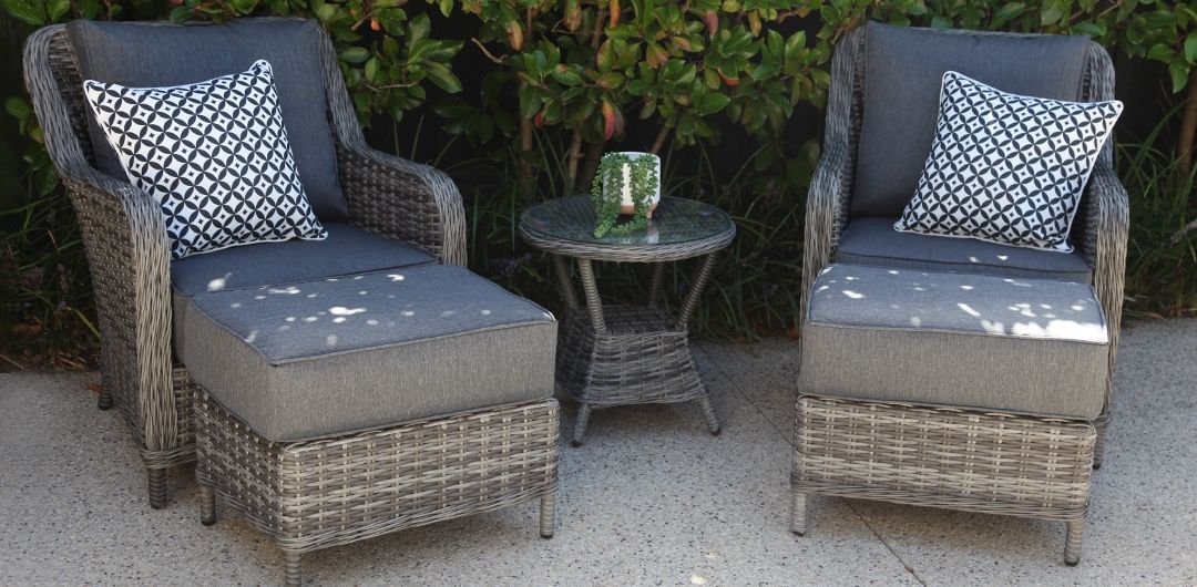Tortuga 5 piece relax setting grey/storm