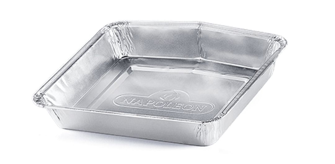 Napoleon Disposable Aluminium Grease Trays for TravelQ™ Series (Pack of 5)