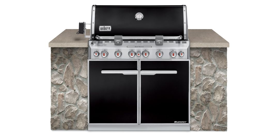 Weber® Summit E-660 Built In - cabinetry not included